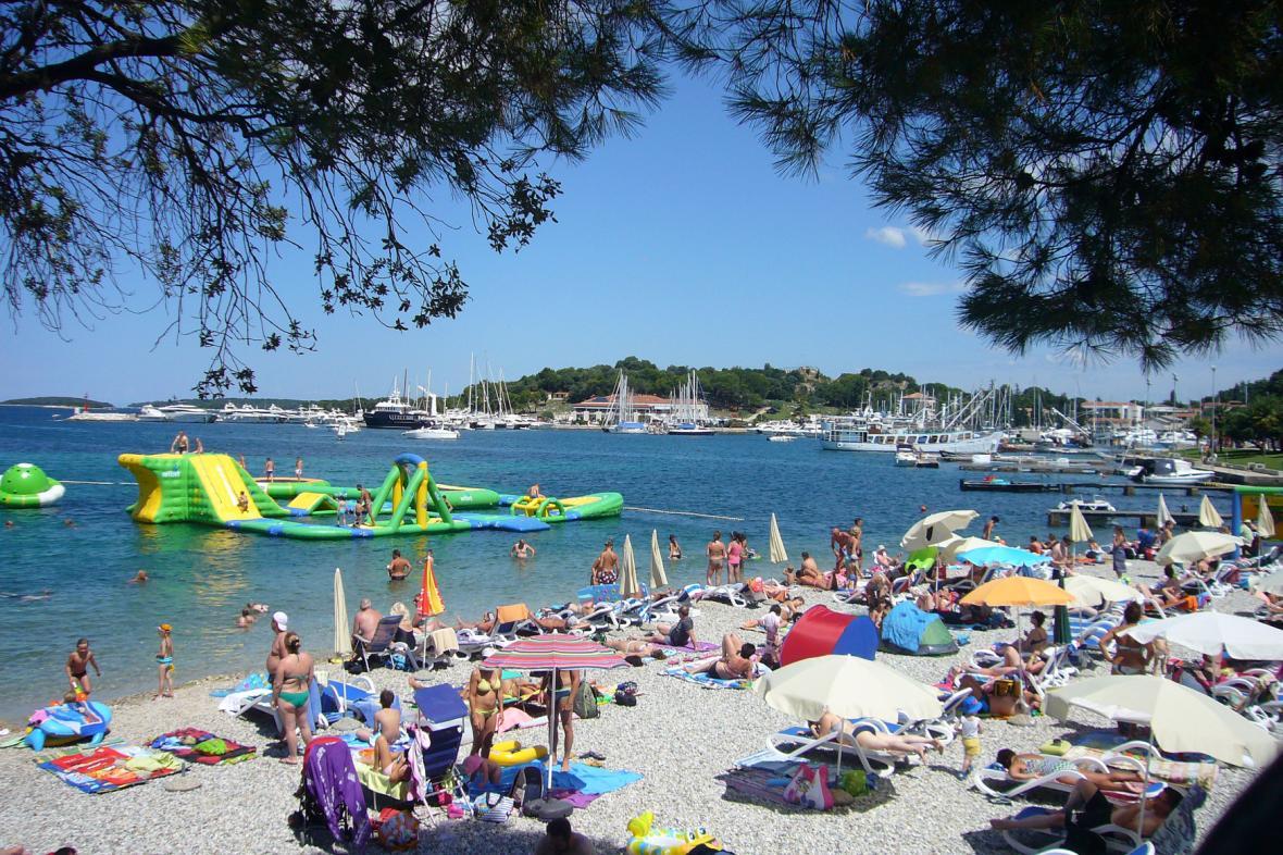 Pobřežní městečko Vrsar na chorvatské Istrii