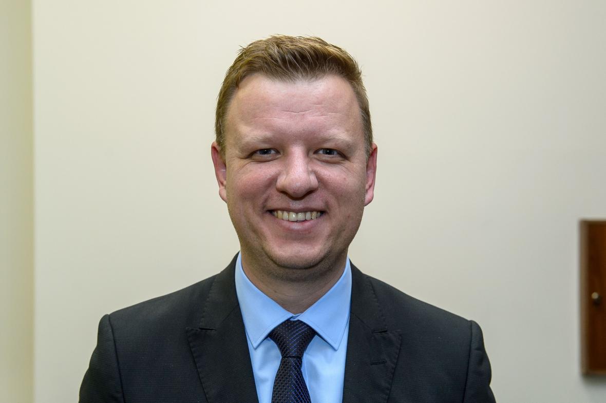 Nově zvolený senátor Hynek Hanza (ODS)