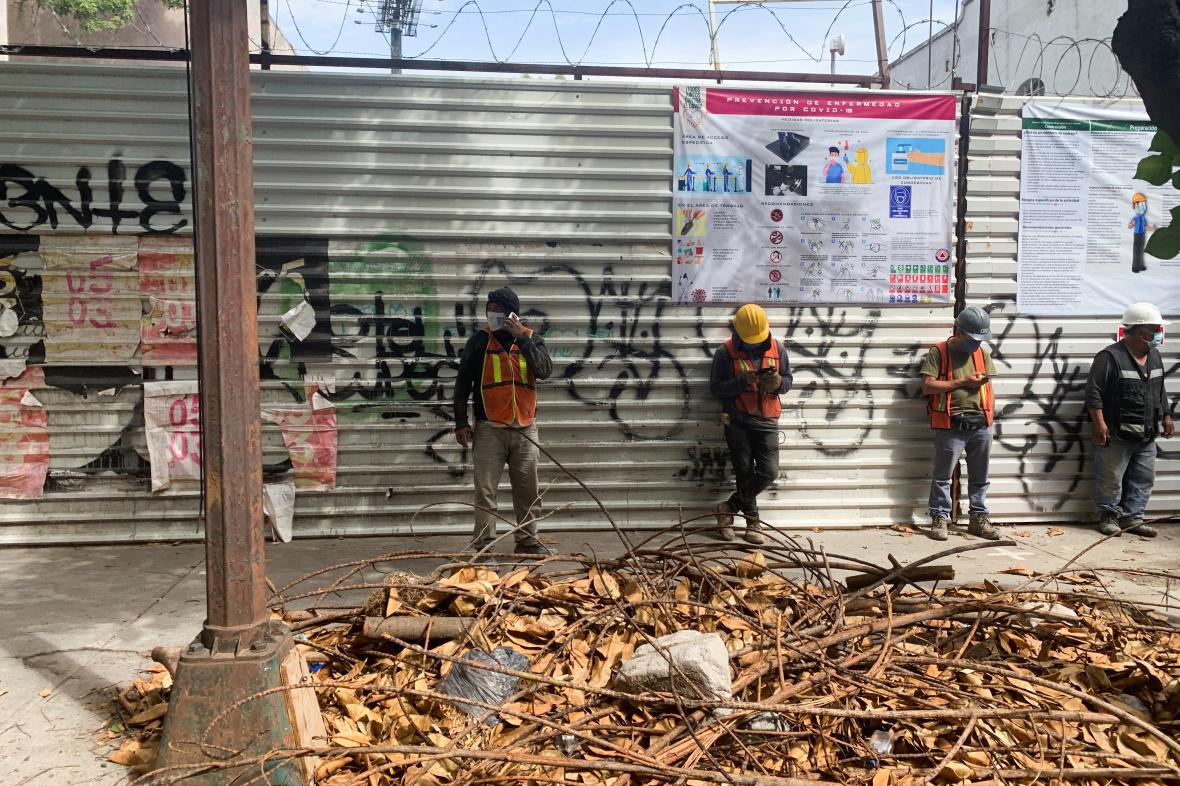 Část Mexika zasáhlo zemětřesení