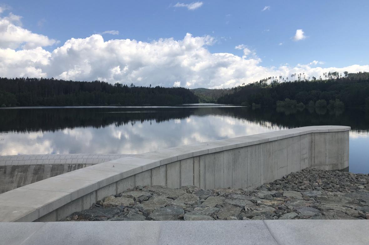 Vodní nádrž Boskovice