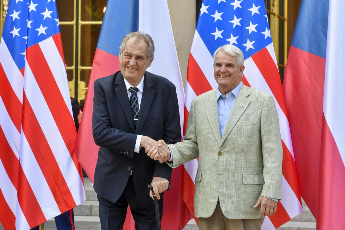 Miloš Zeman a Stephen King