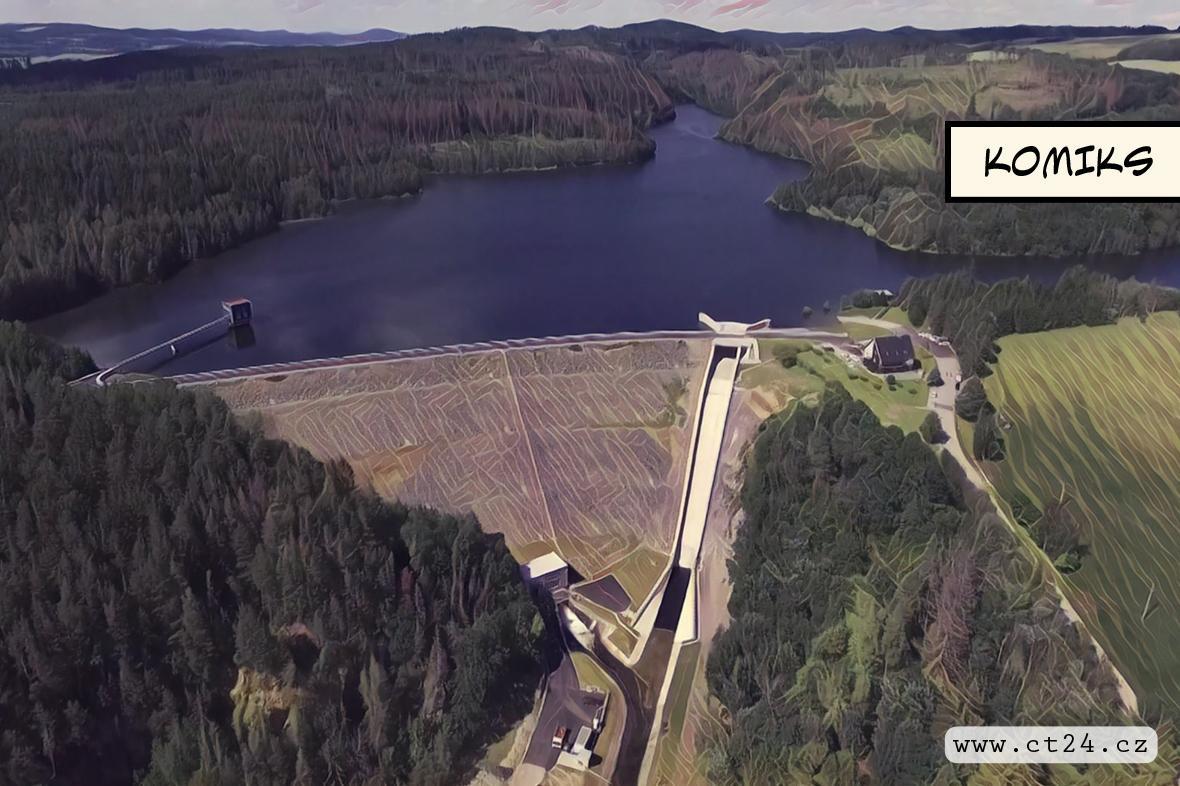 Hráz Boskovické nádrže je opět přístupná veřejnosti