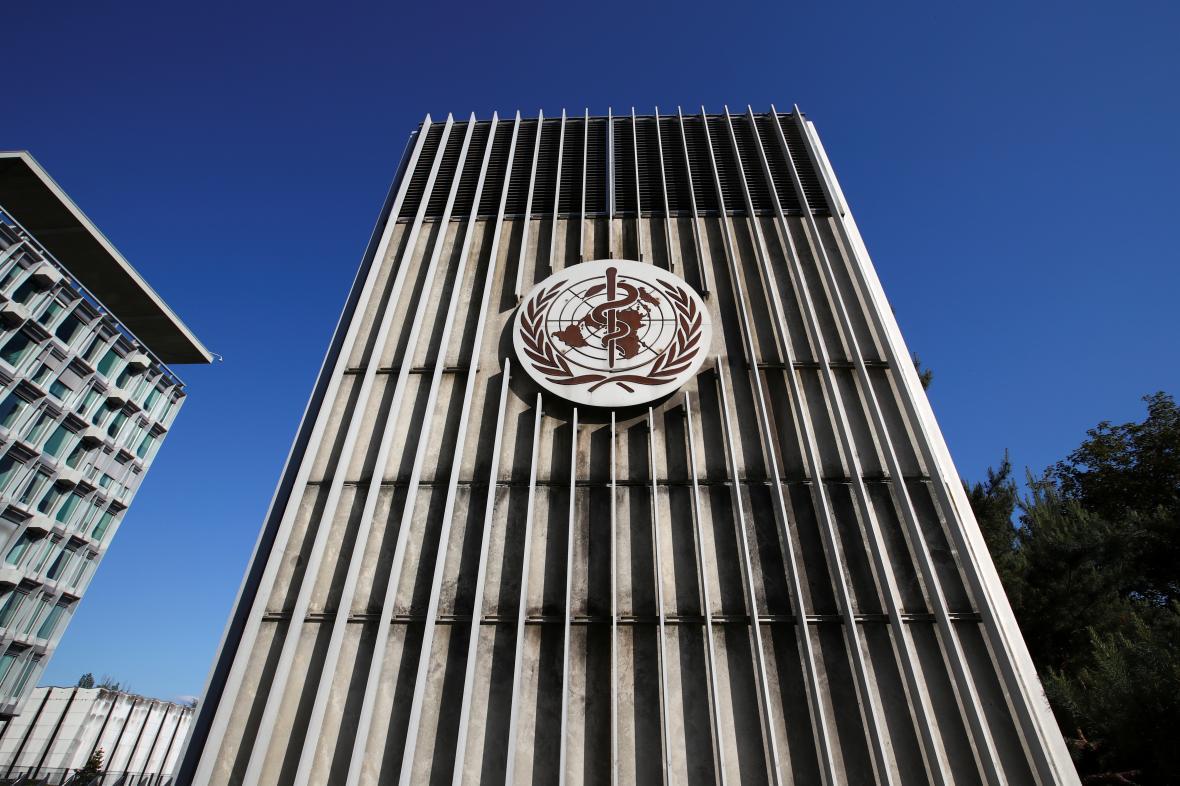 Sídlo Světové zdravotnické organizace ve švýcarské Ženevě