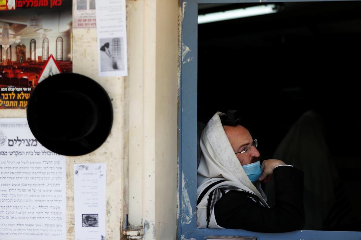 Židovská osada Bajtar Illit na Západním břehu je kvůli koronaviru v uzávěře