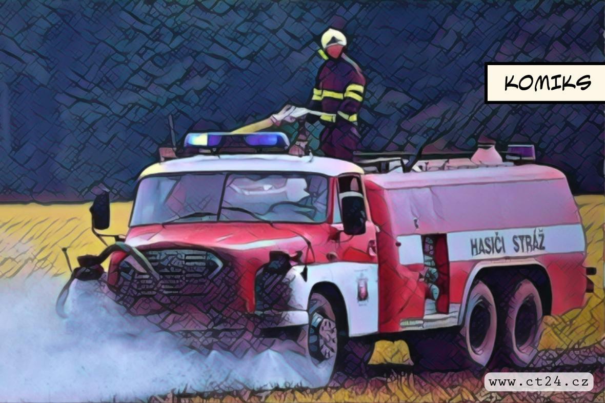 Dobrovolných hasičů ubývá. Někde nejsou peníze na obnovu techniky
