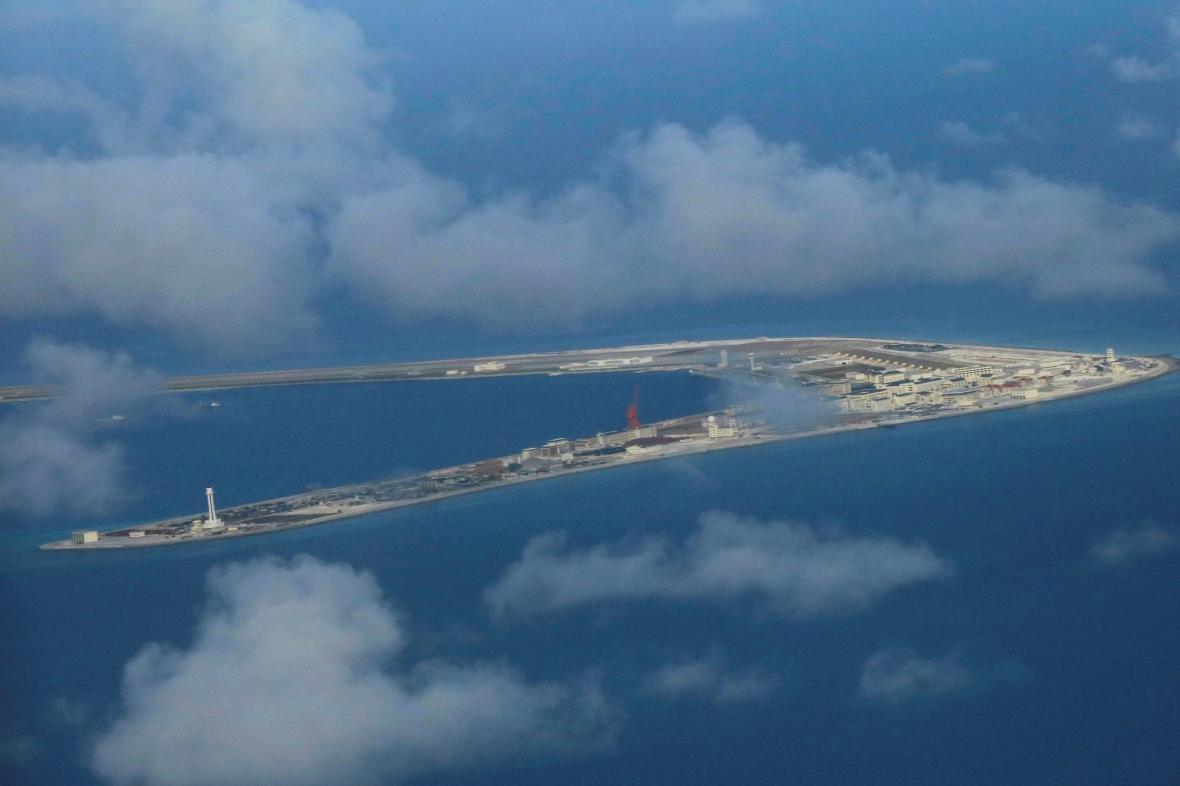 Pohled na část Spratleyových ostrovů
