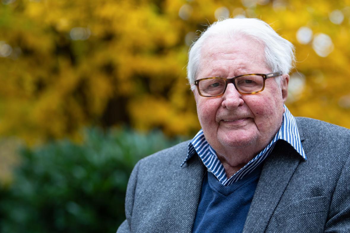 Hans-Jochen Vogel na snímku z listopadu 2019
