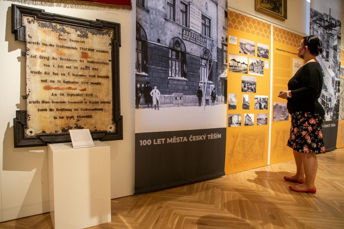 Výstava ke 100. výročí Českého Těšína