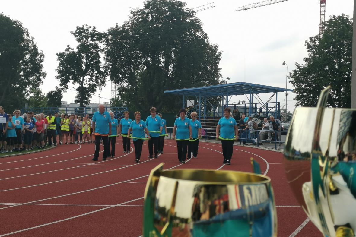 Sportovní hry seniorů 2020 v Olomouci