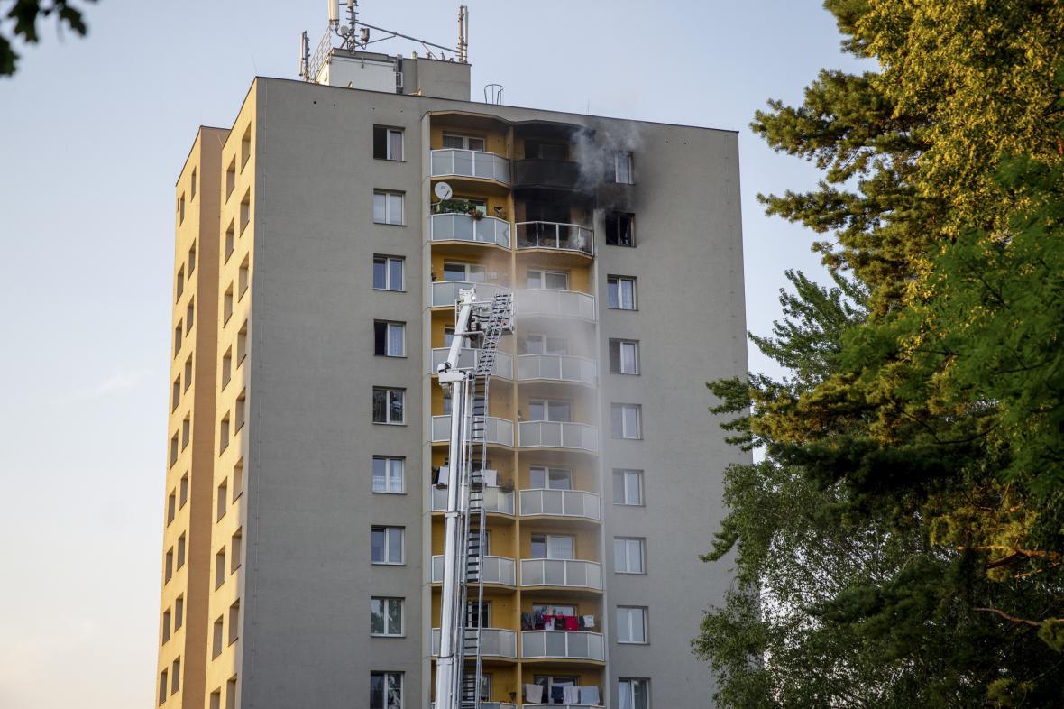 Požár v Bohumíně