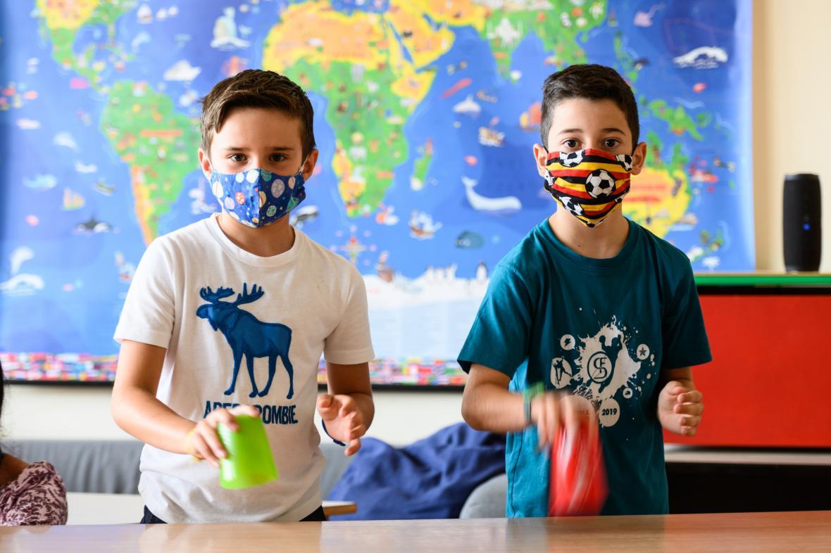 Školní výuka v době koronavirové pandemie