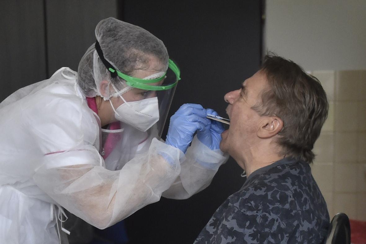 Odebírání vzorků v Sanatoriích Klimkovice