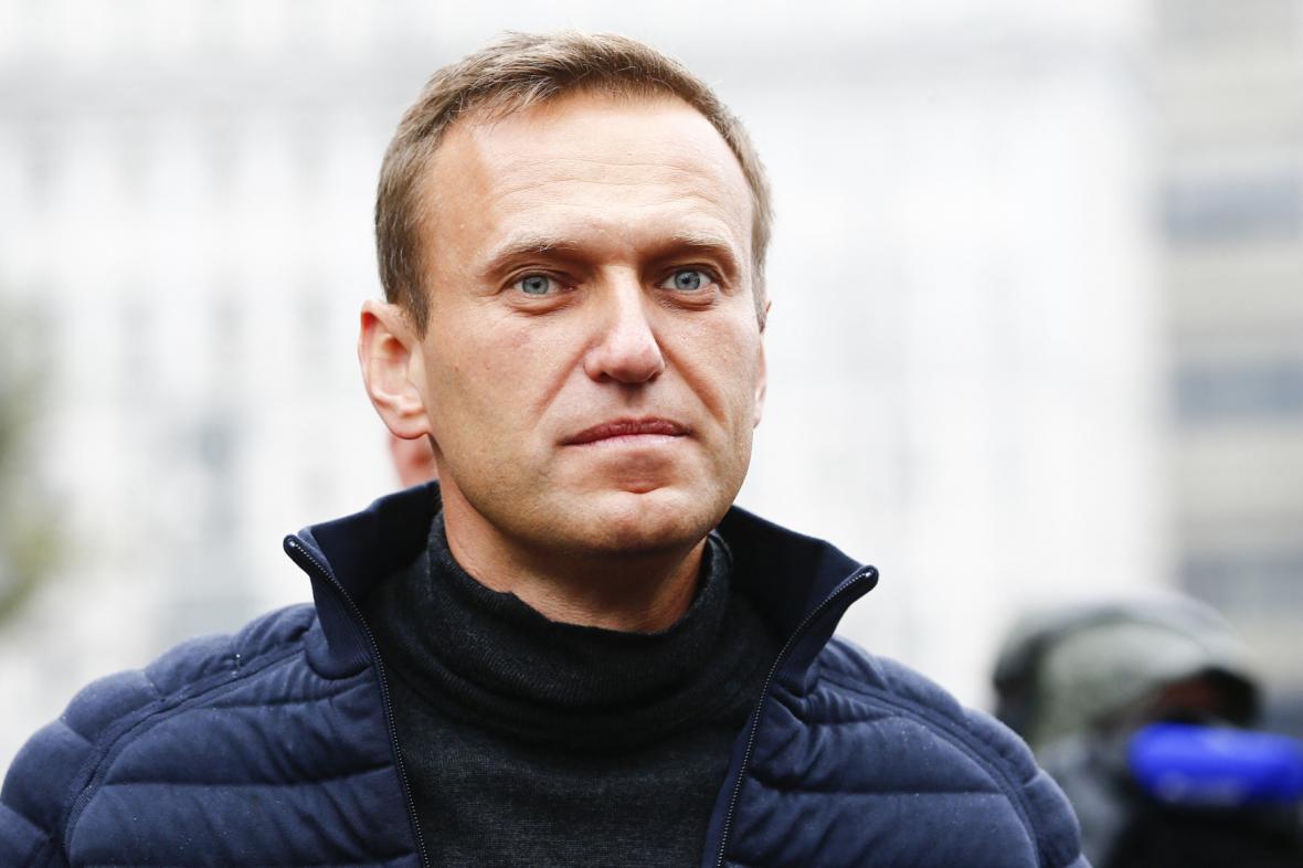 Ruský opoziční lídr Alexej Navalnyj