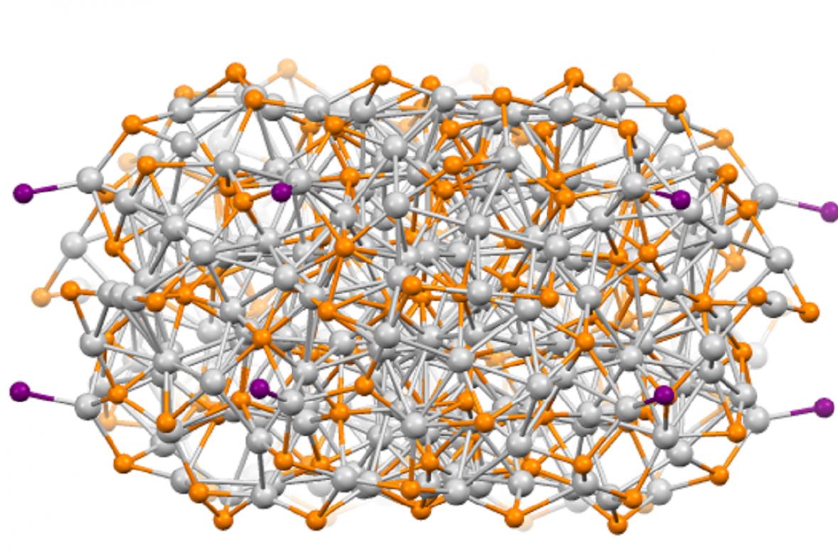 Struktura nanokrystalu