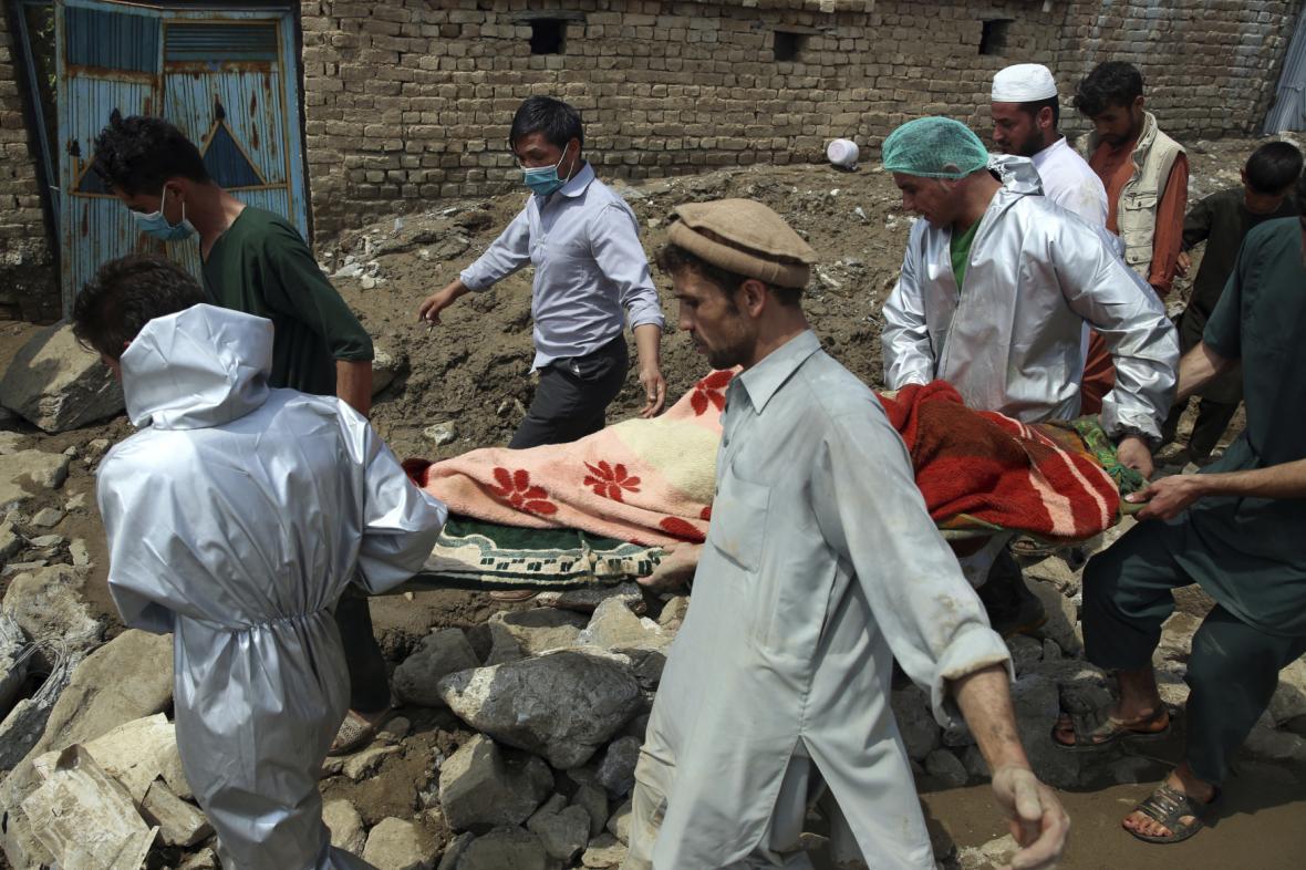 Bleskové povodně v Afghánistánu