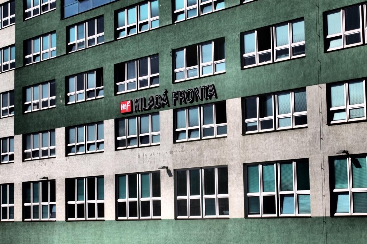 Budova vydavatelství Mladá fronta v Praze