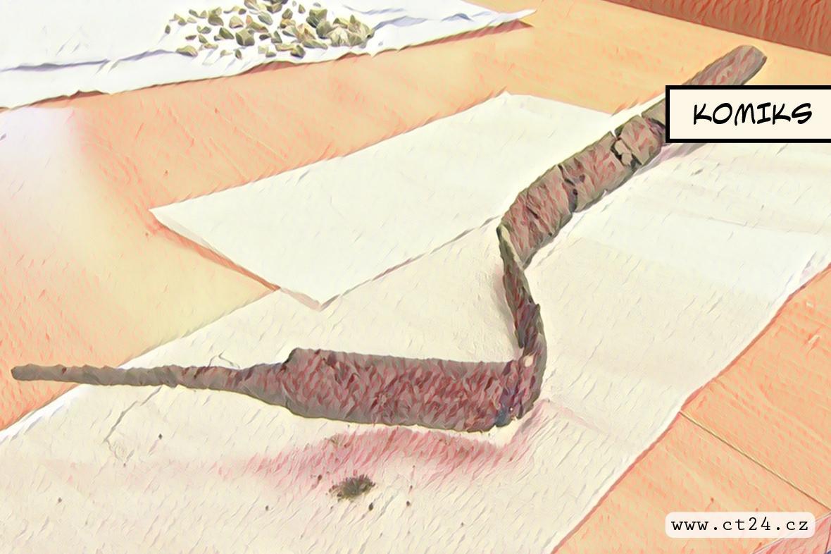 Dva tisíce let starý keltský meč