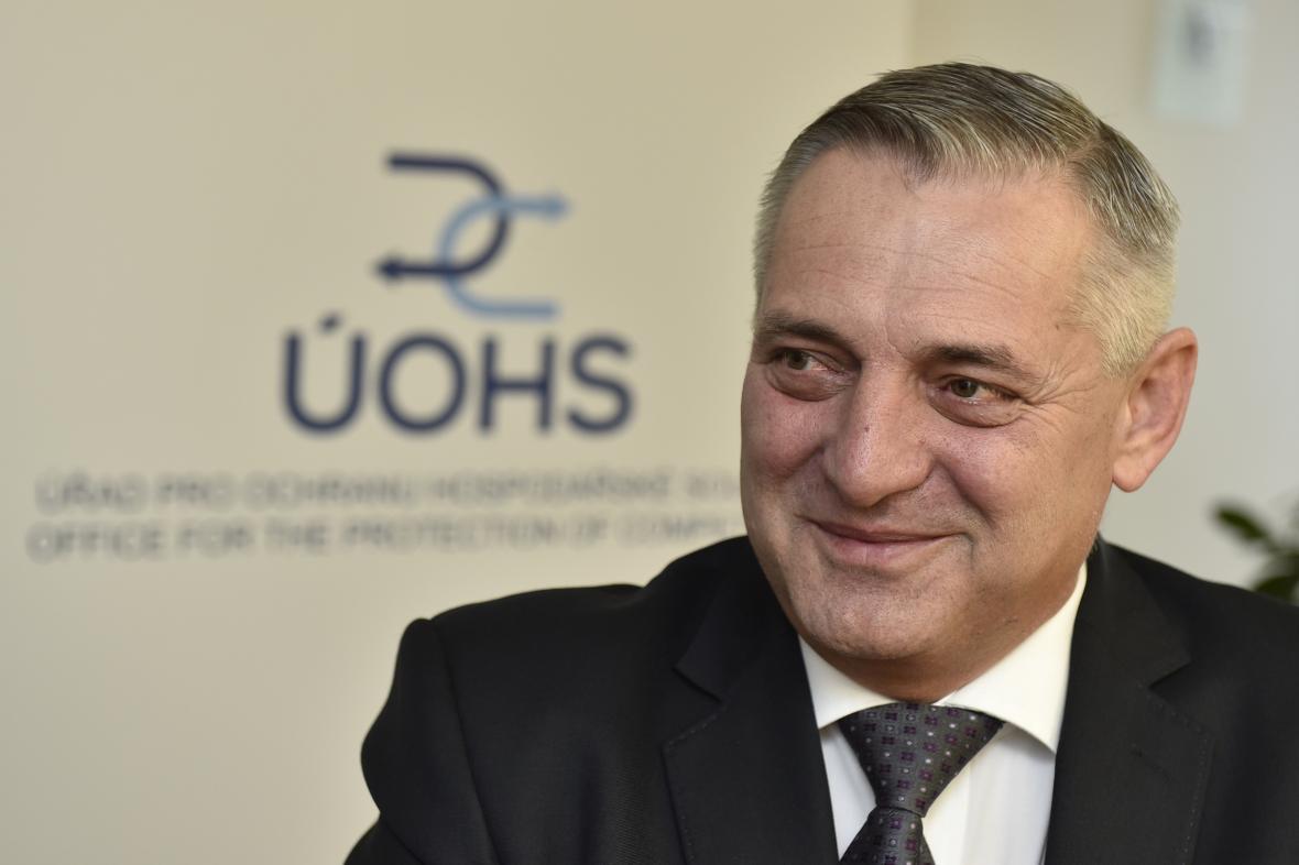 Předseda Úřadu pro ochranu hospodářské soutěže Petr Rafaj
