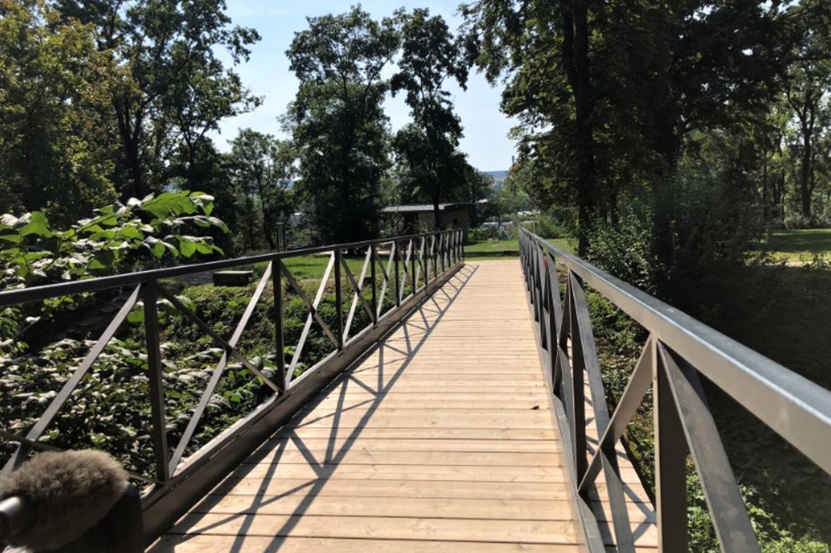Obnovený lesopark v Bučovicích