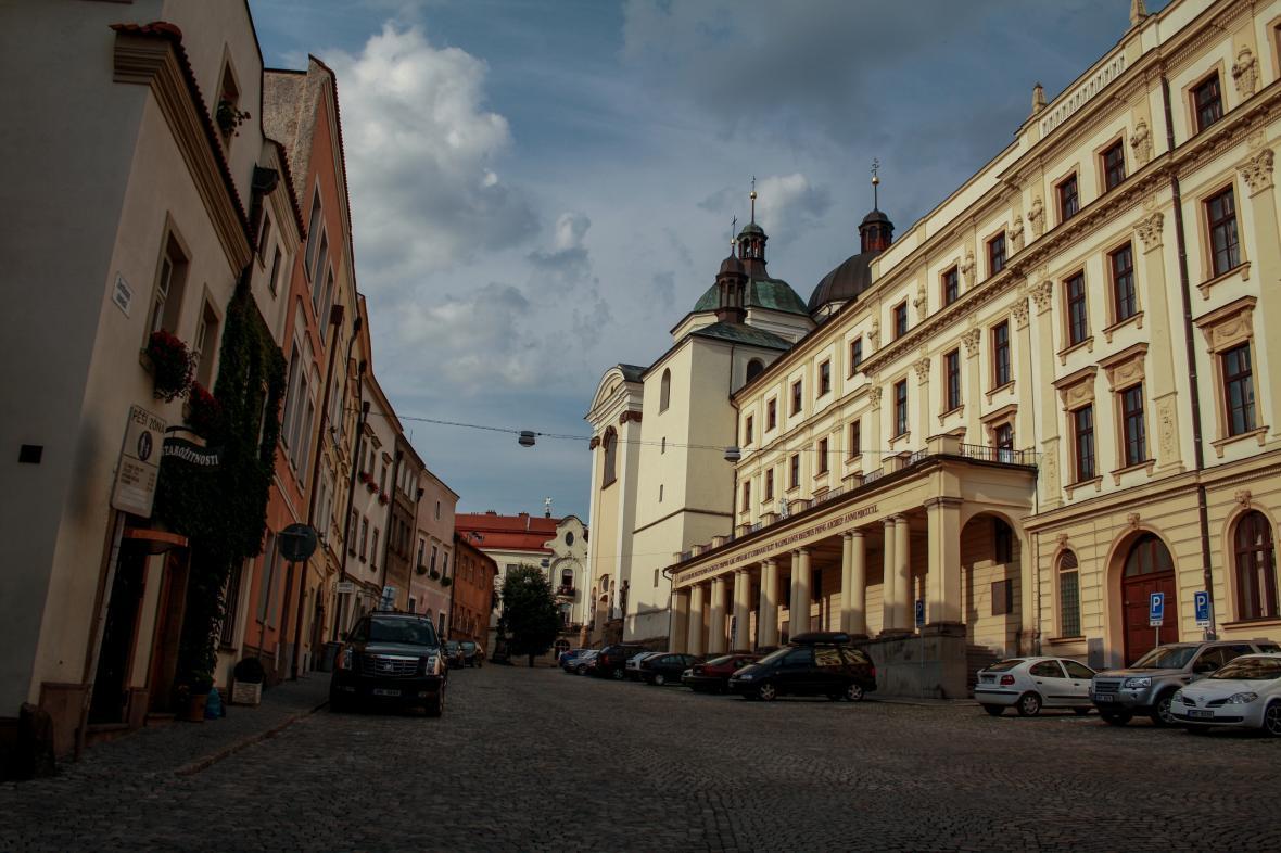 Olomoucký kraj. Historické centrum města Olomouce