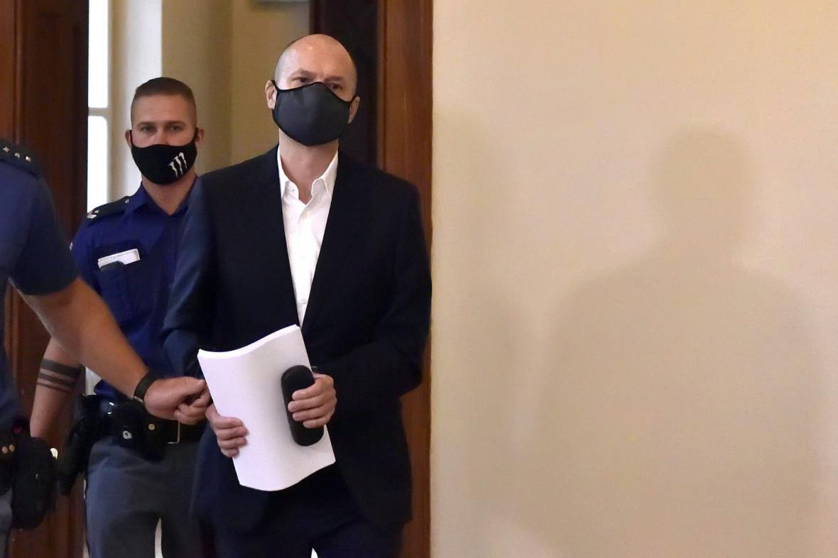 Jiří Švachula u soudu