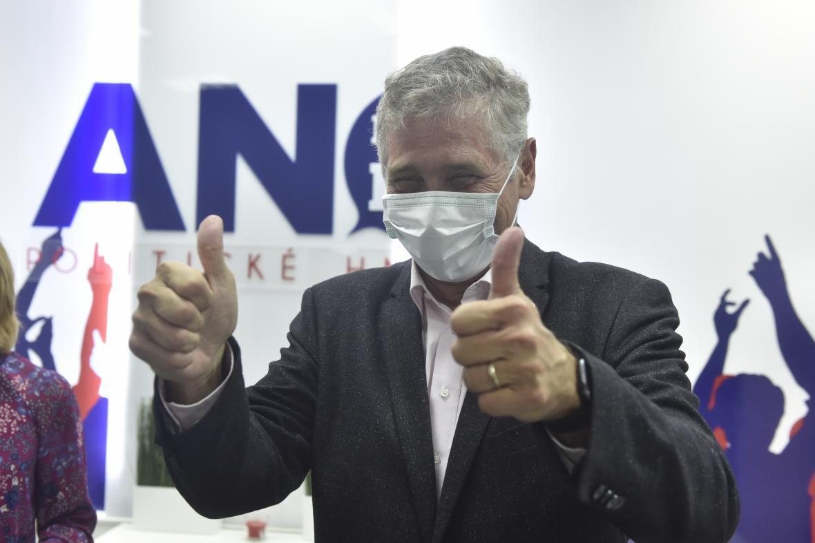 Moravskoslezský hejtman Ivo Vondrák (ANO) reaguje na výsledky krajských voleb