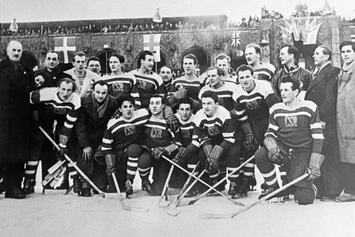 Reprezentace Československa na mistrovství světa ve Stockholmu