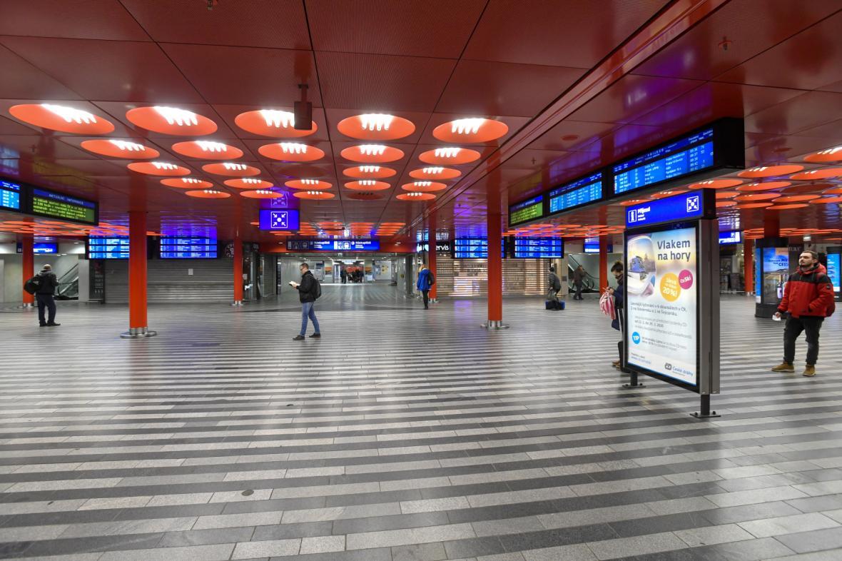 Nová odbavovací hala hlavního nádraží