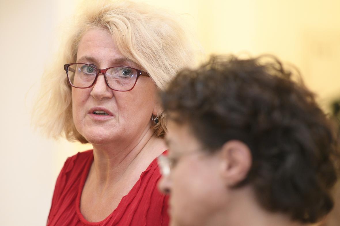 Zdravotní sestra Věra Marešová