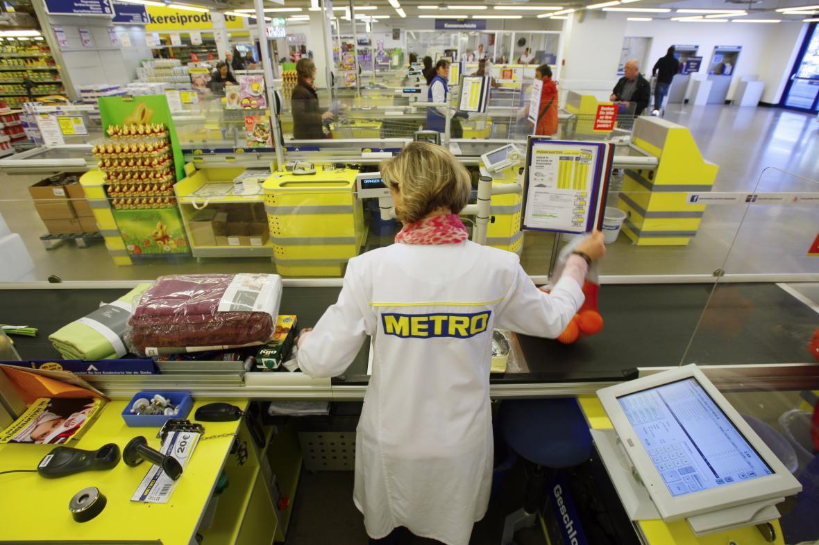 Jeden z obchodů společnosti Metro v Německu (archivní foto)