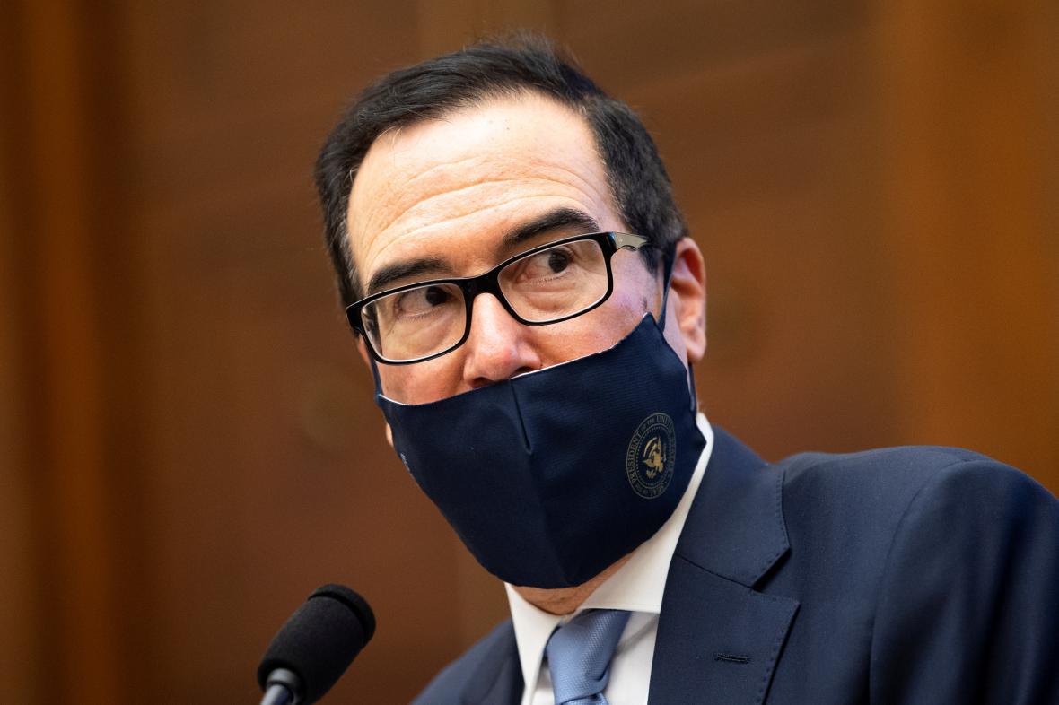 Americký ministr financí Steve Mnuchin