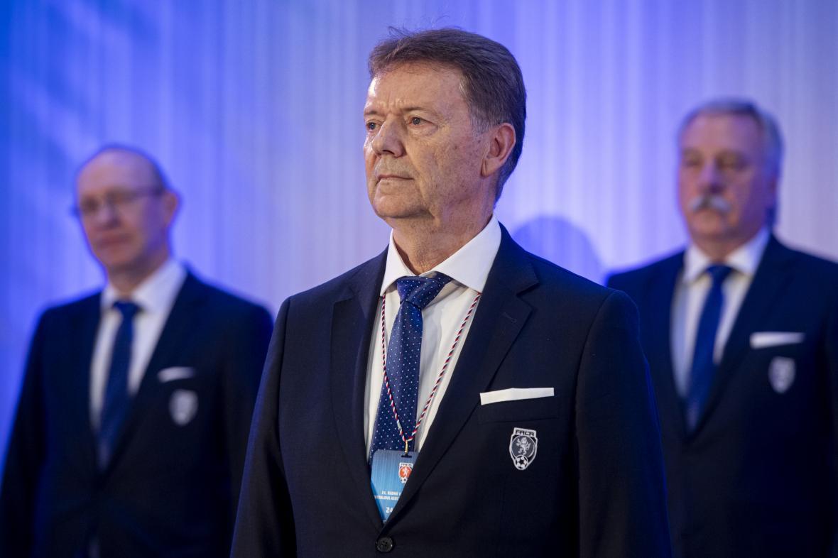 Místopředseda fotbalové asociace Roman Berbr
