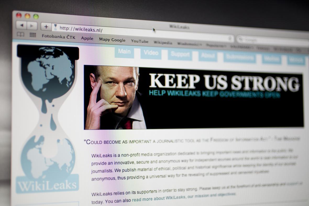 WikiLeaks a Julian Assange