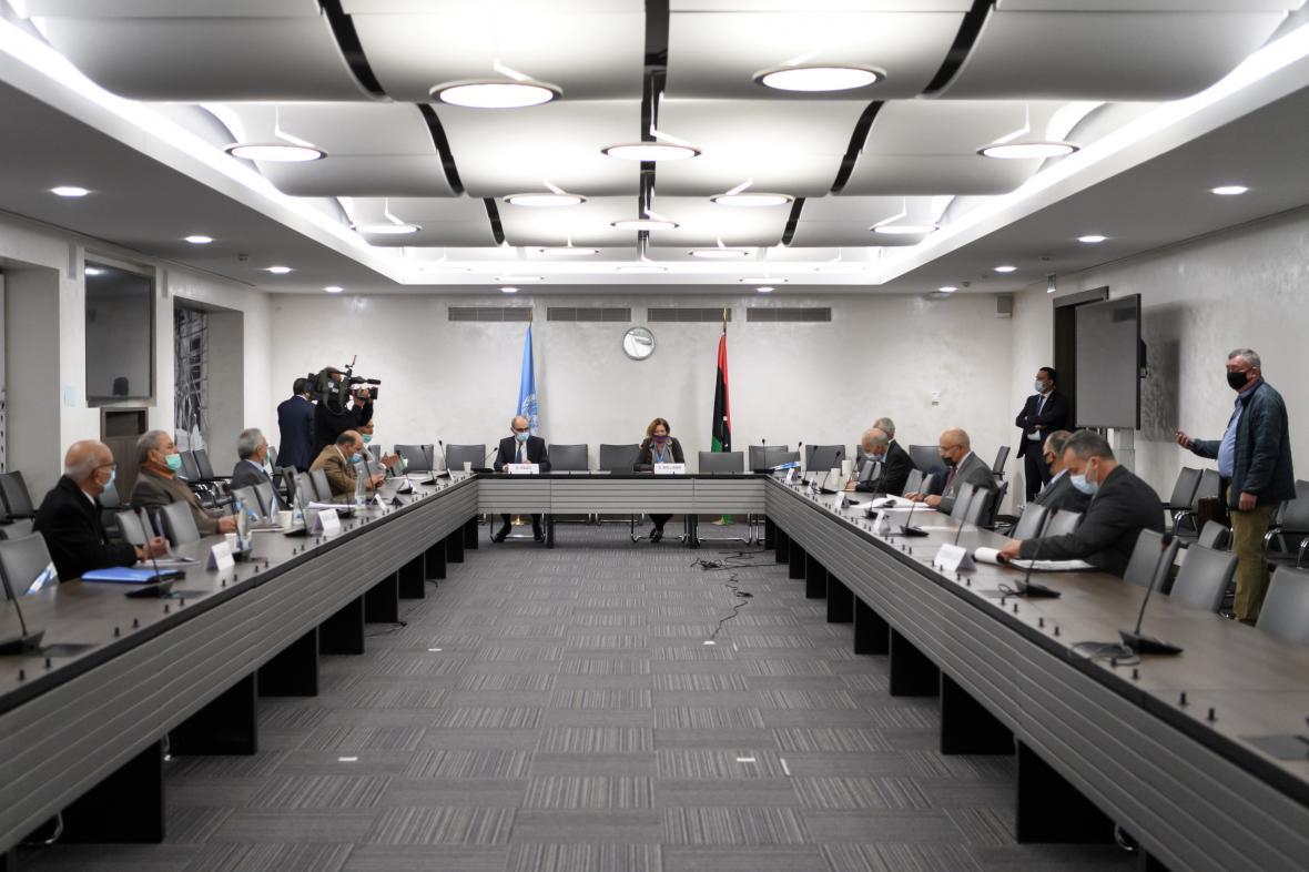 Libyjské mírové rozhovory pod vedením OSN probíhaly v Ženevě