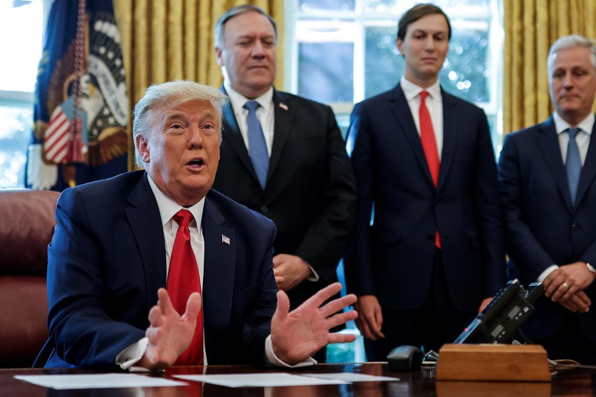Donald Trump oznámil normalizaci vztahů Súdánu a Izraele