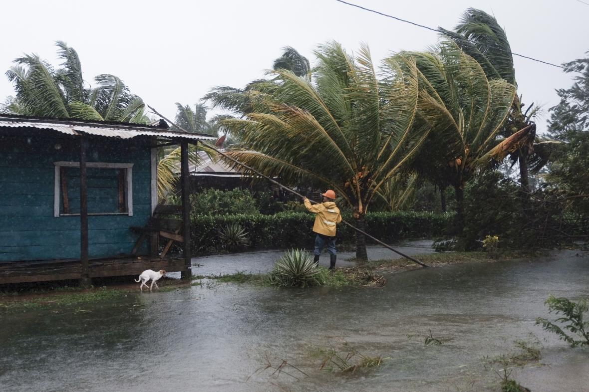 Následky hurikánu Eta v Nikaragui