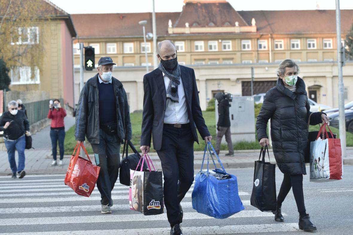 Jiří Švachula opouští bohunickou věznici