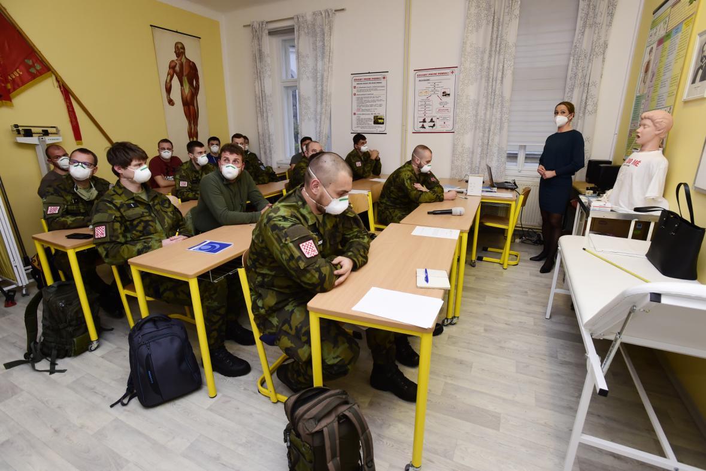 Školení vojáků z povolání