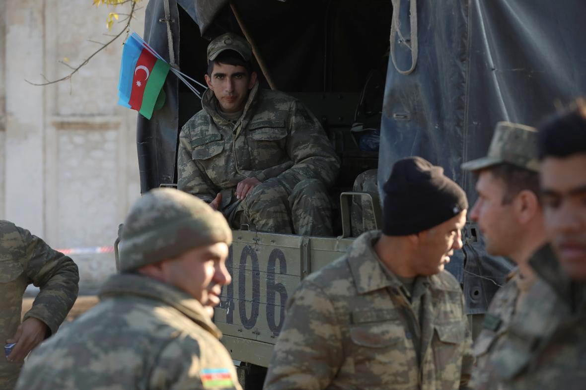 Ázerbájdžánští vojáci