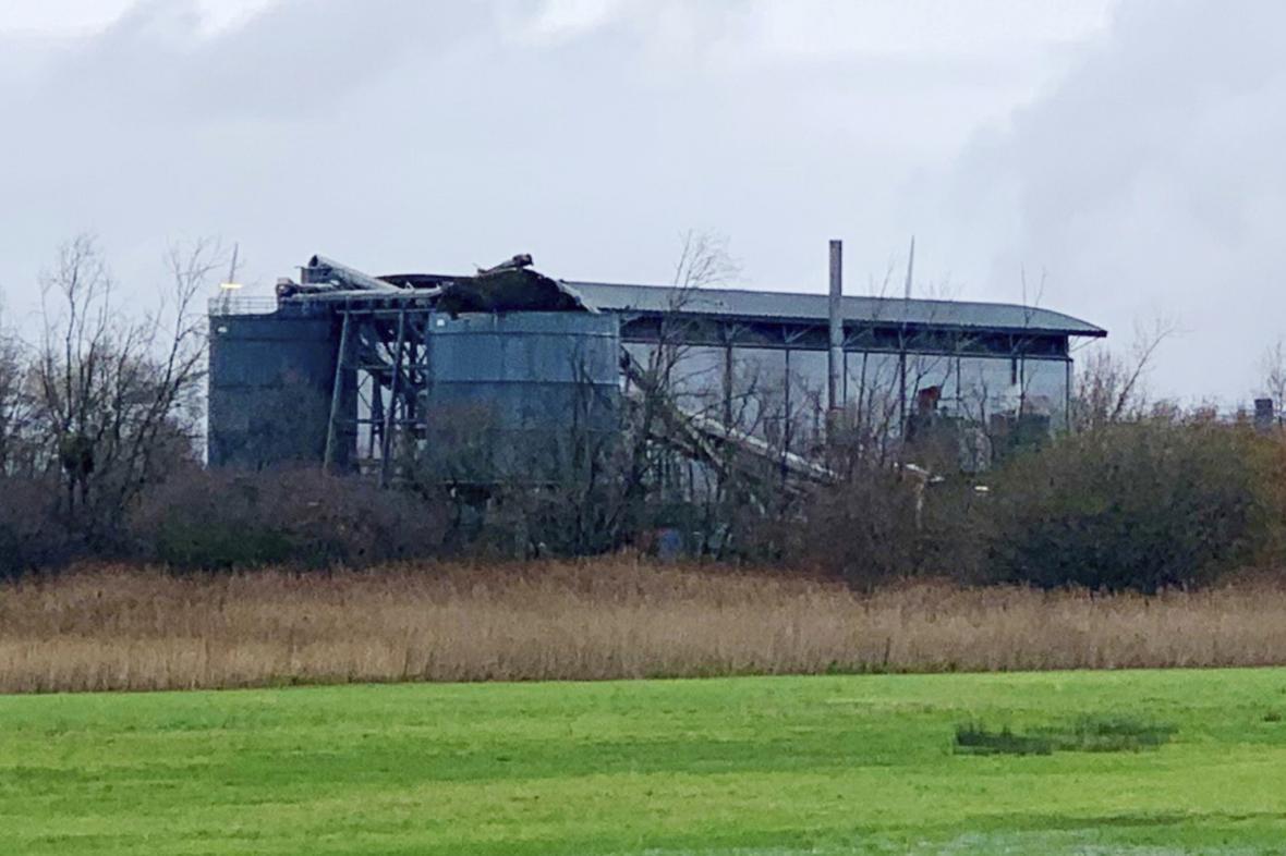 Budova, v níž proběhla exploze