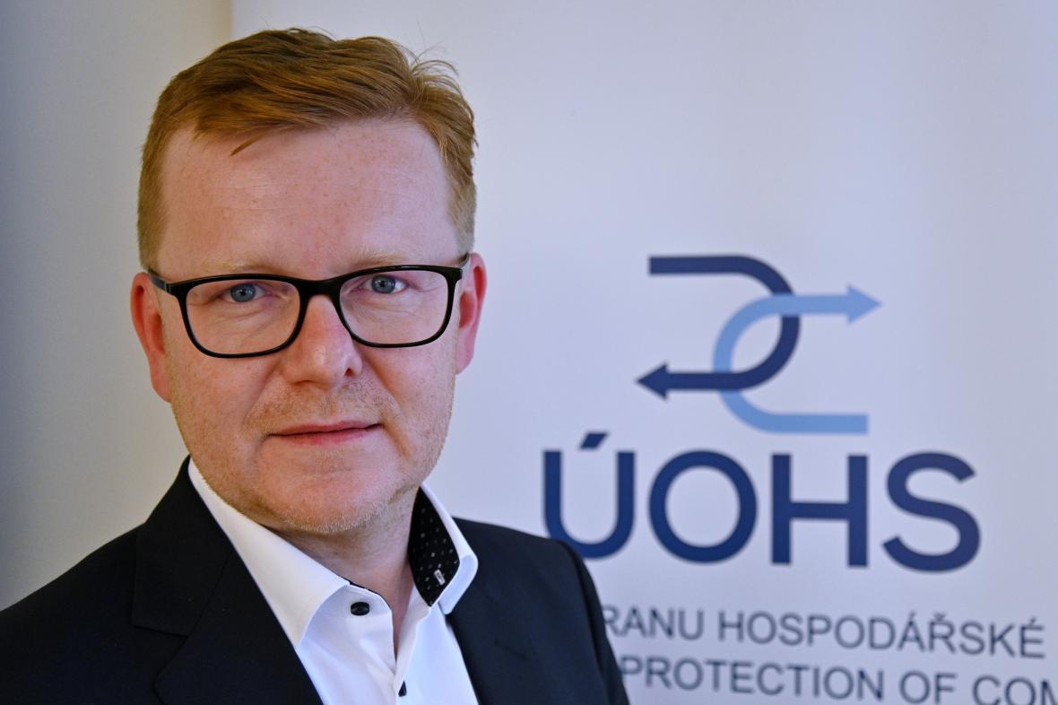 Nový ředitel Úřadu pro ochranu hospodářské soutěže Petr Mlsna