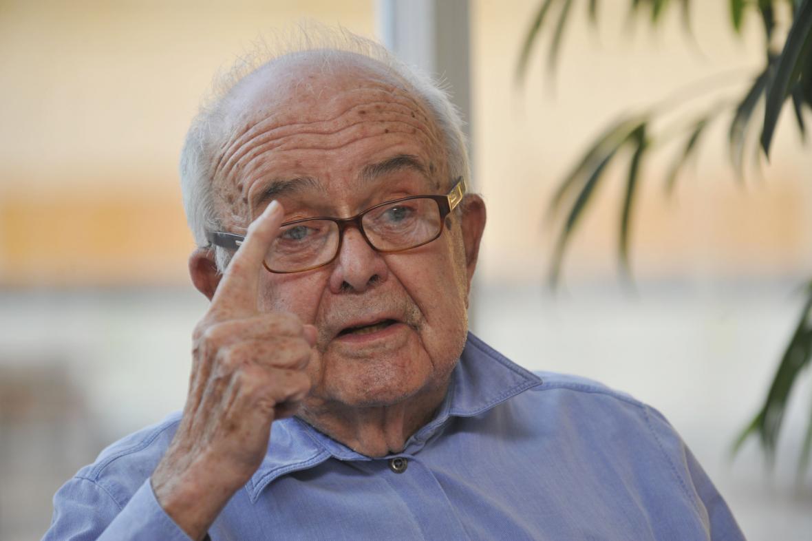 Publicista Antonín Jaroslav Liehm