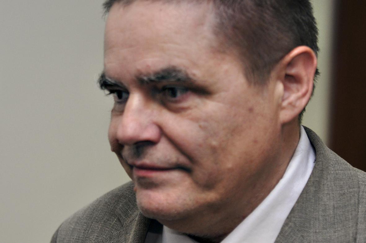 Soudce Zdeněk Novák v roce 2008