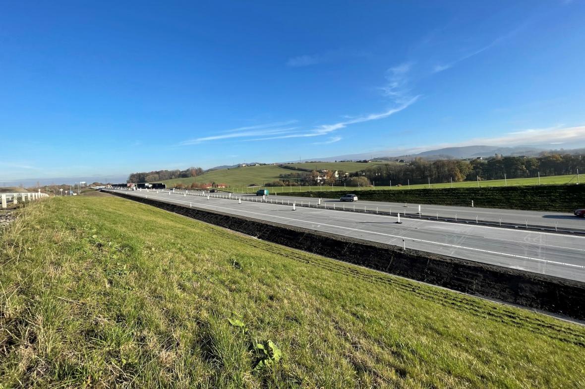 Nový úsek dálnice D48 Rybí-Rychaltice