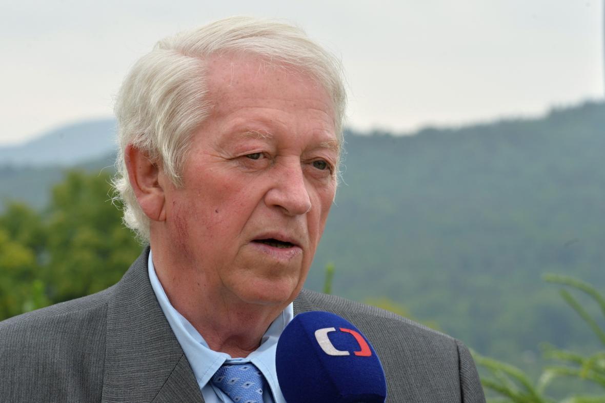 Josef Vondrášek v roce 2015