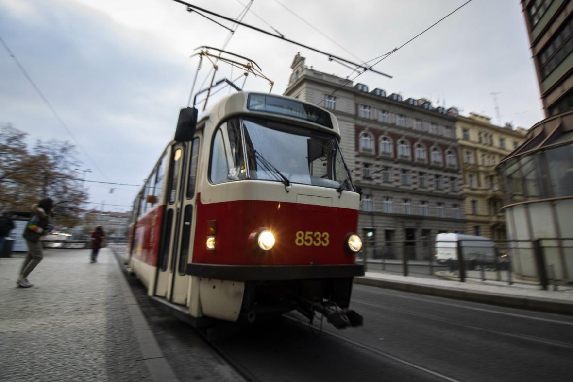 Tramvaj v Praze