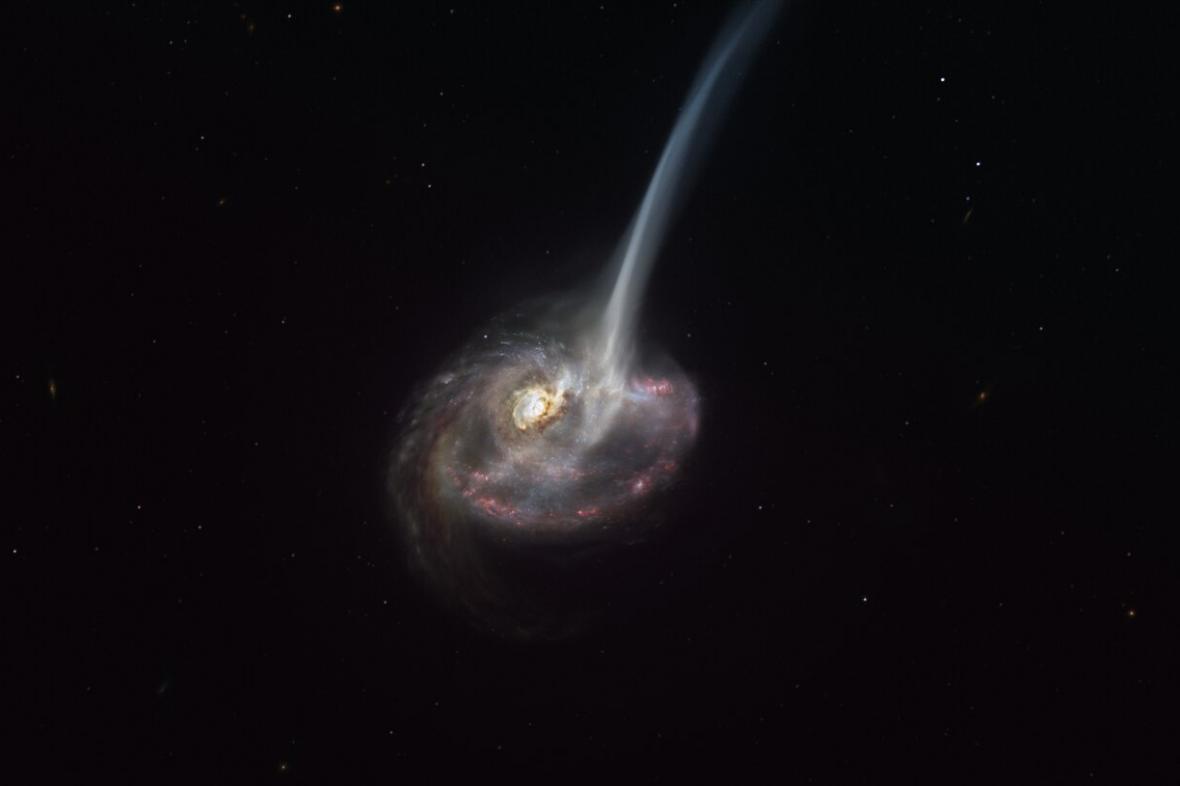 Umírající galaxie