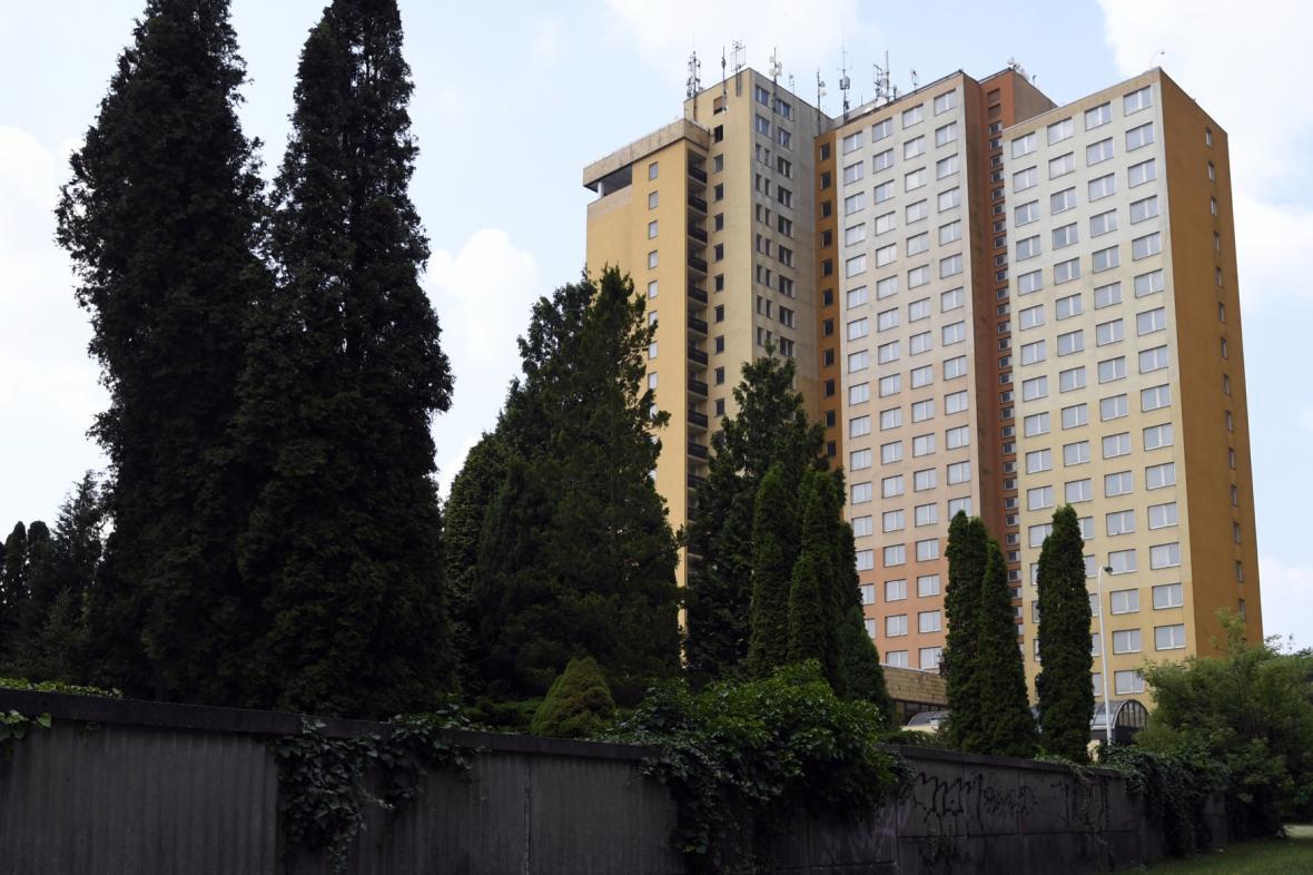Bývalý hotel Opatov
