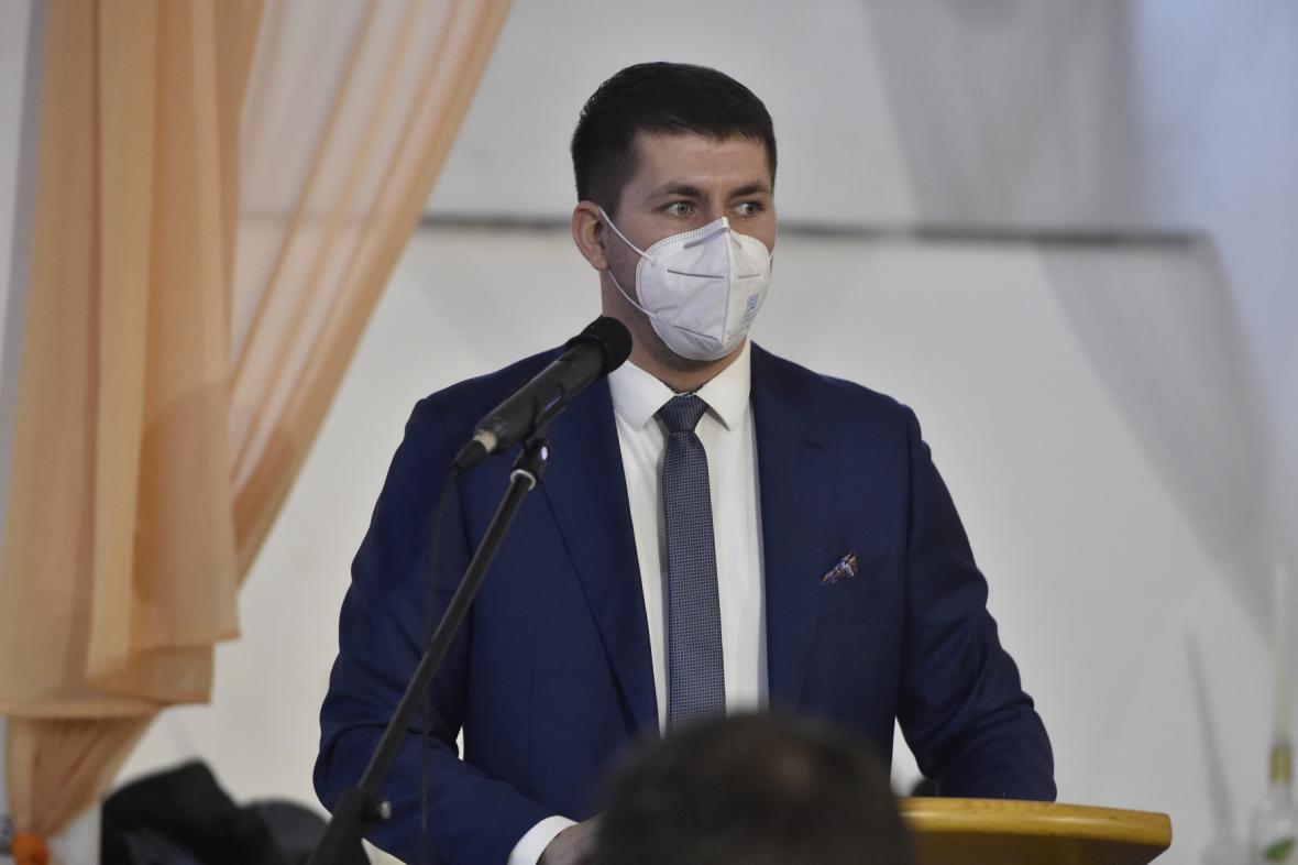 Nový starosta Znojma Jakub Malačka (ČSSD)