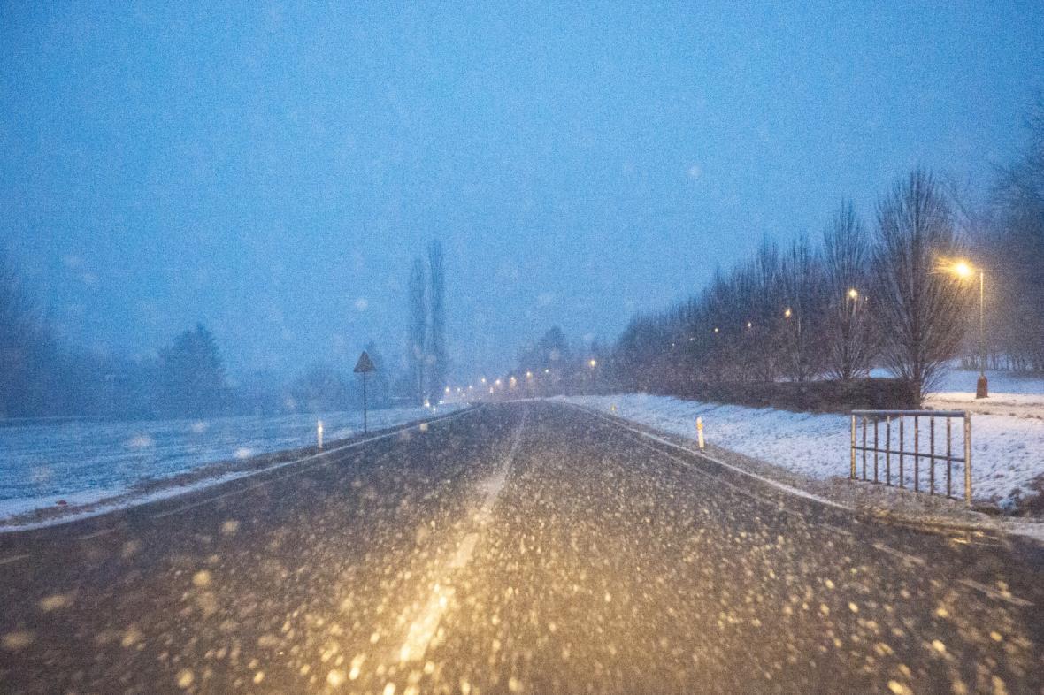 Husté sněžení